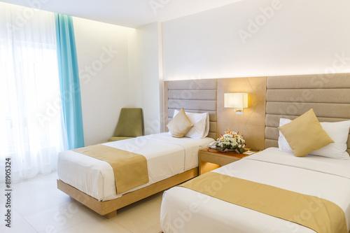 hotel room interior - 81905324