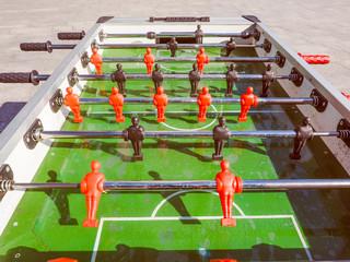 Retro look Table football