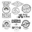 Bicycle badges logos and labels for any use. - 81906539