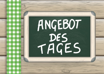 Tagesangebot Blackboard Wood