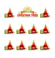 Bargain Christmas trees