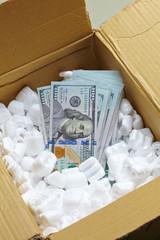 money in the box