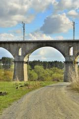 Фрагмент железнодорожного моста