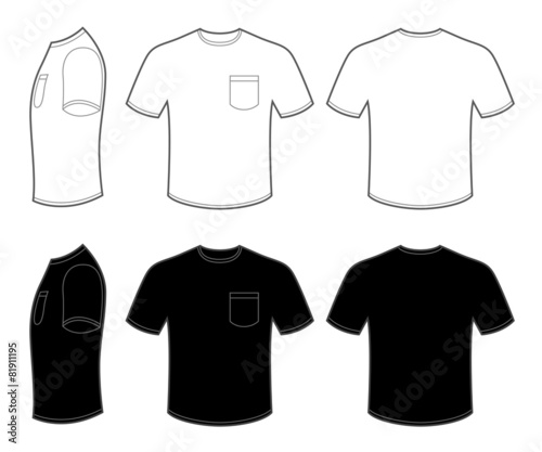 Man's T Shirt with Pocket - 81911195