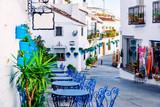 Mijas street. Charming white village in Andalusia