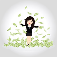 Happy Money Concept