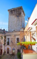 Castle of Rutigliano. Puglia. Italy.