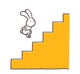 ウサギ跳び