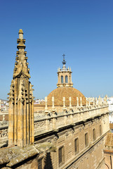 Iglesia del Sagrario, catedral de Sevilla, España