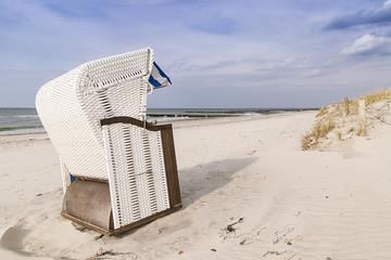 Beach chair Baltic Sea