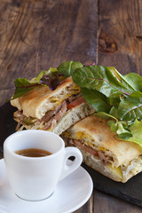 Delicious Pork Sandwich