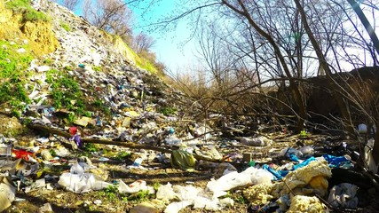 illegal garbage dump environmental issue