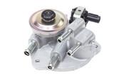 valve pumping diesel fuel in the fuel filter
