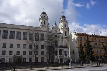 Church of the Blessed Virgin Mary in Minsk