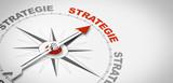 Kompassnadel Strategie