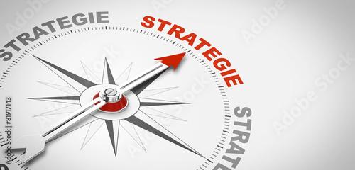 Leinwanddruck Bild Kompassnadel Strategie