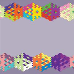 Вектор,  кубический узор, геометрия.