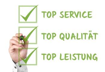 Top Service - Qualität - Leistung