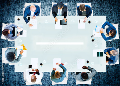 Business People Corporate Working Office Team Professional