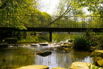 Brücke Bachlauf