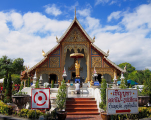 Temple in Chang Mai, Thailand
