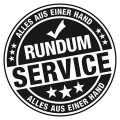 RUNDUM Service - Alles aus einer Hand! Stempel