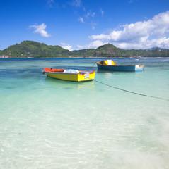 tropischer Strand - Seychellen