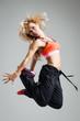 Fitness dancer