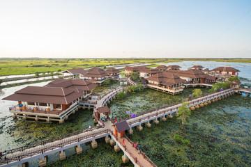 nice villas in lotus swamp at Talay-Noi