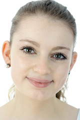 Hübscher Teenager im Porträt