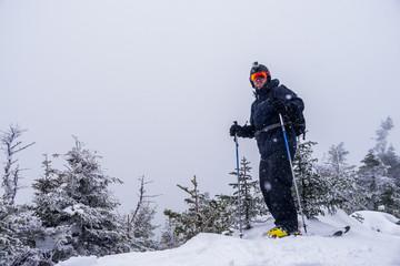 Skier_on_summit