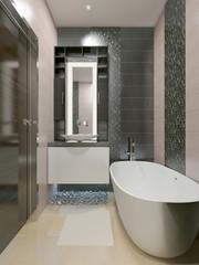 Elegant bathroom modern style