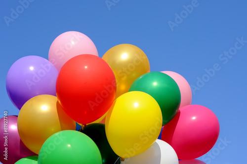 multicolored balloons © beerfan