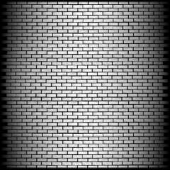 monochrome brick wall