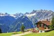 Leinwanddruck Bild - Alpengasthof Rellseck