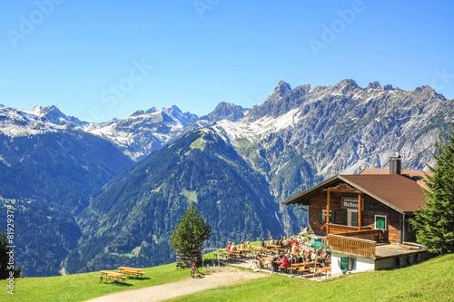Aluminium Alpen Alpengasthof Rellseck