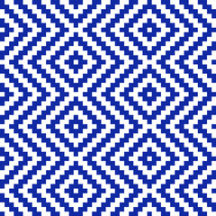 Pixel square with diagonal line pattern in asia style