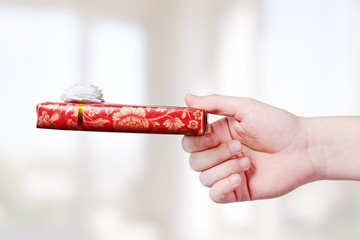 Gift. Gift box