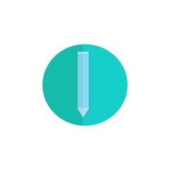 Vector Flat pencil icon
