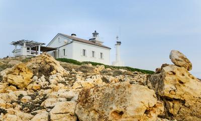 Leuchtturm Marlera an der Küste von Istrien