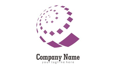 Sphere circle logo for business