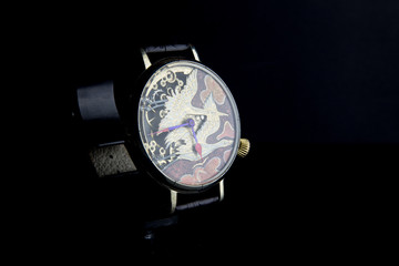 Man's watch. Luxury goods