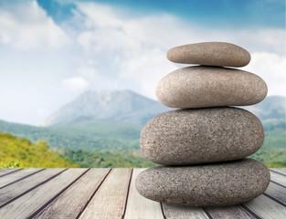 Stone. Balance