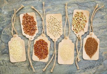 healthy, gluten free grains