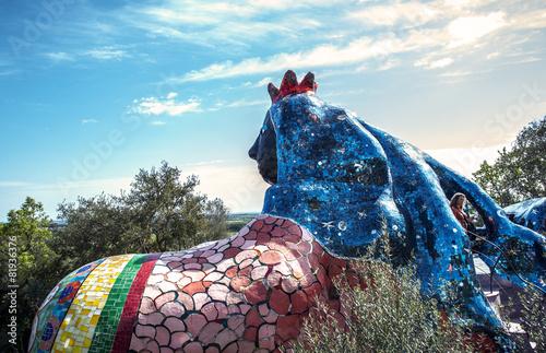 Foto op Plexiglas Standbeeld Giardino dei Tarocchi