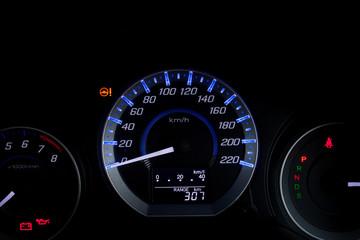 Car Speed Dashboard.