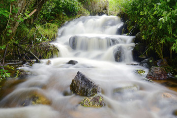 cascade de coton