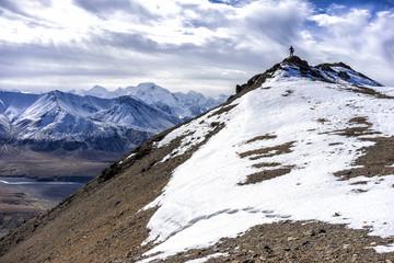 Alaska Denali Hiking - Across from Mt. McKinley