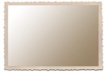 old photo edge frame
