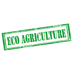 Eco Agriculture-stamp